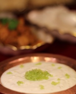 Finger Lime Raita