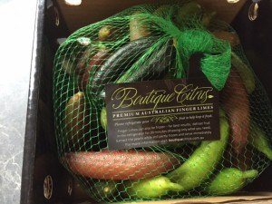 Boutique Citrus Finger Limes